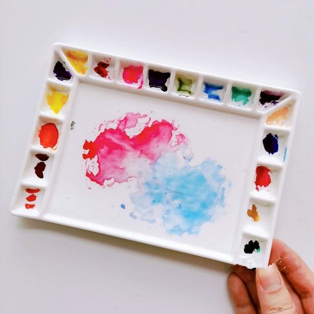 Ceramic Palette Watercolour