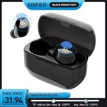 EDIFIER TWS1หูฟังไร้สายบลูทูธ5.0 AptX Touch Control IPX5 Ergonomic Designหูฟังไร้สายบลูทูธหูฟัง