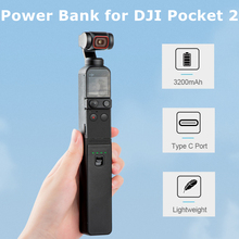 3200mAh Portable Batterie Externe Portable De Charge Poignée Chargeur Pour DJI OSMO POCHE 2 Cardan Caméra De Sport