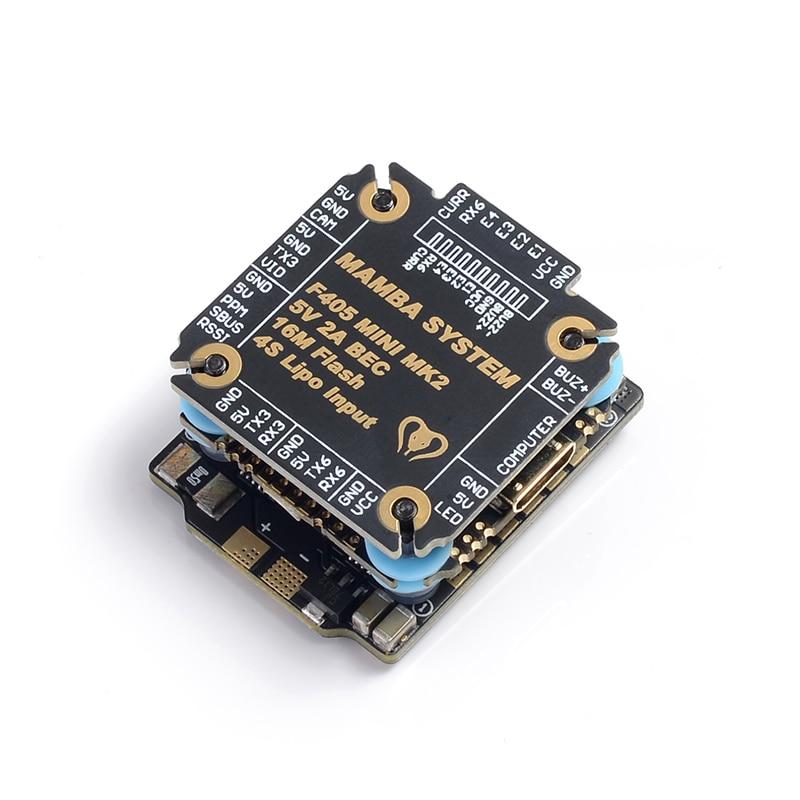 Image 2 - Diatone MAMBA F405 Mini MKII Betaflight controlador de vuelo y 25A CES a 2 4 S DSHOT600 pila FPV Racing sin escobillas ESC para-in Parts & Accessories from Toys & Hobbies