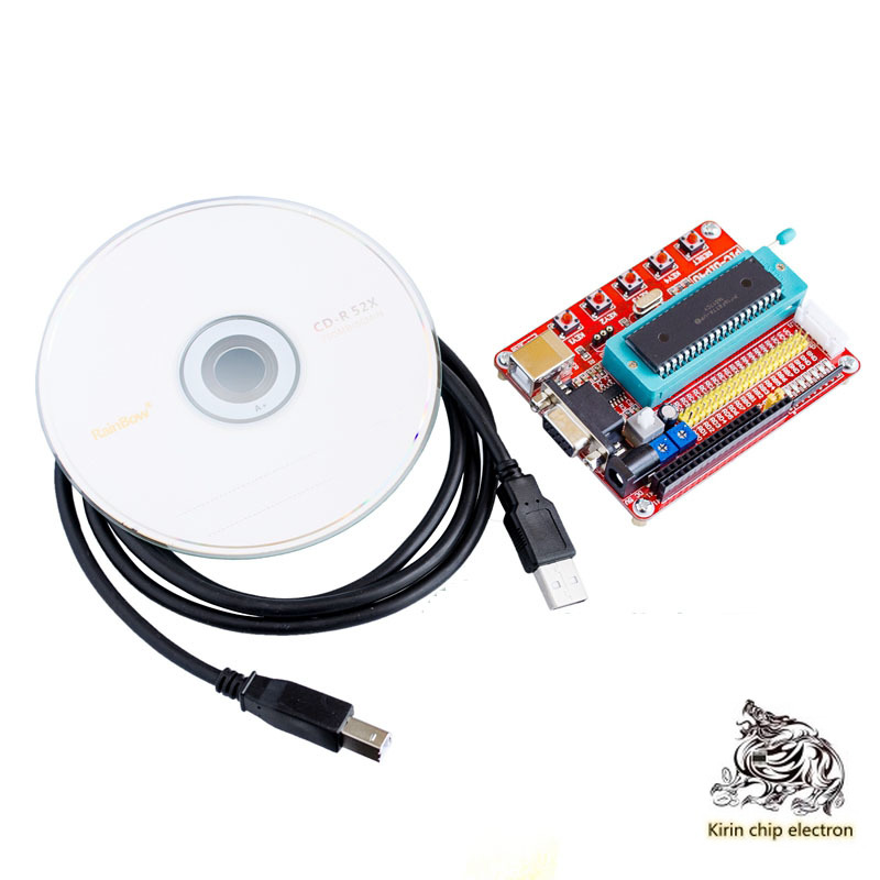 1pcs / Lot PIC16F877A Pic Development Board System Learning Board Minimum System Learning Board CD