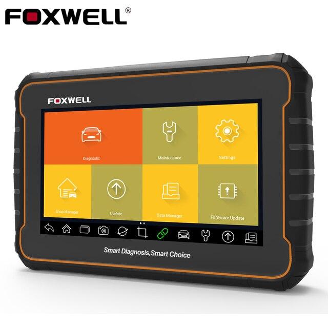 Foxwell GT60 OBD2 전체 시스템 진단 도구 OBD 2 코드 리더 DPF BMS 인젝터 코딩 OBD2 자동차 스캐너 업데이트 온라인