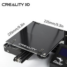 Creality 3D Ender 3 3D Printer Glass Ultrabase Heated Bed Build Surface Glass Plate for Ender 3/Ender 3 Pro Hot Bed 235x235mm