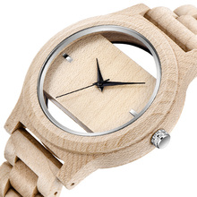 Top Brand Wood Watch Men Analog Quartz Movement Watches Crea