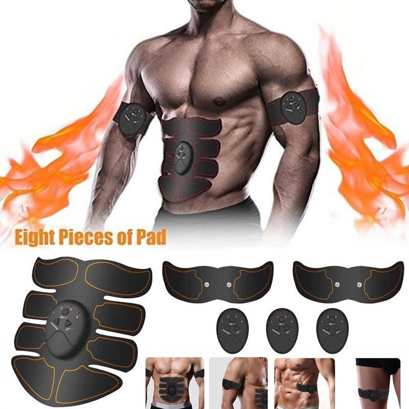 ABS Bauchmuskeln Toner EMS Drahtlose Muscle Stimulator Trainer Körper Abnehmen Gürtel Elektrische Übung Maschine Fitness Ausrüstung