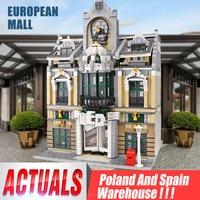 MOC 14248 Compatible City series Grand Emporium build Wedding Hall Model Building Blocks Bricks 10211 Toy Christmas gift