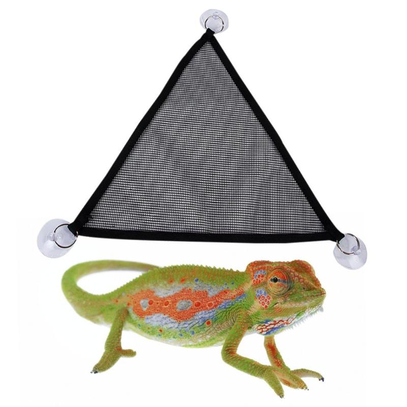 Set Home Simple Reptile Hammock Lizard Hammock New Mesh Hammock 2pcs