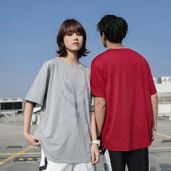 men's clothing T-Shirt Trendy Summer Oversize personality style t-shirt T-Shirt 100 Percent print funny mens o-neck oversize