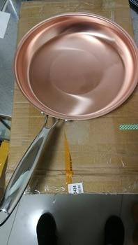 Copper frying pan Mini Steak frying pan for Western Food