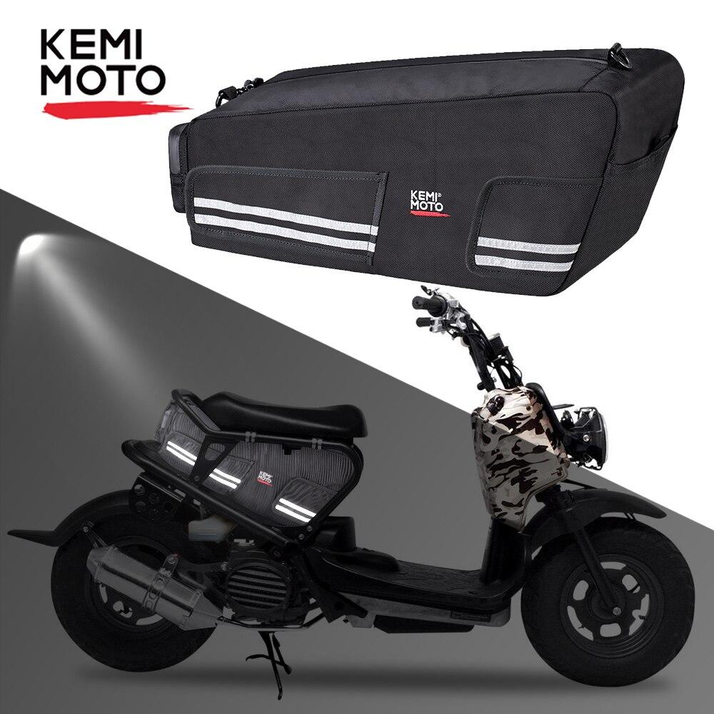 KEMiMOTO для Honda Ruckus Zoomer 2010 - 2019 сумка для хранения грузов под сиденьем багажная сумка для мотоцикла задние сиденья водонепроницаемые сумки