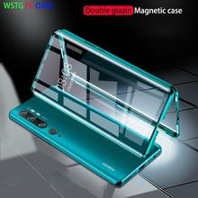 360 металлический магнитный чехол для Xiao mi Red mi Note 8 7 K30 20 Pro 8T Магнитный чехол для Xiao mi Note 10 Pro mi 9 SE cc9 A3 Lite 9T чехол