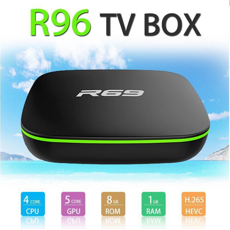 ТВ-приставка R69, Android 7,1, Allwinner H3, четырехъядерный процессор 1G8G 2G16G, 2,4 ГГц, Wi-Fi, 1080P, HD, домашний смарт-медиаплеер, ТВ-приставка
