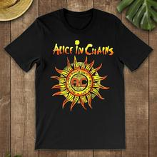 Vintage Alice In Chains T-Shirt Black-Navy Men-Women-Youth Sweatshirt Tee Shirt