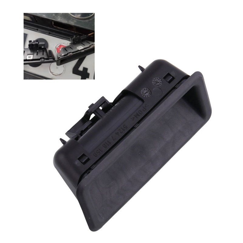 Car Trunk Door Handle Trunk Lid Button Trunk Switch Tail Flap Handle Tailgate Handle 11.5*5.5*4.5CM For BMW 51247118158 7118158