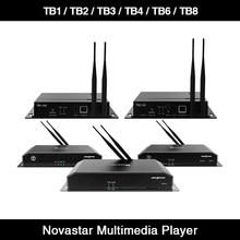 Nova TB8 TB6 TB4 TB3 TB2-4G TB1-4G Soutien Wifi TB2 Lecteur Multimédia Novastar Polychrome CONTRÔLEUR D'AFFICHAGE LED