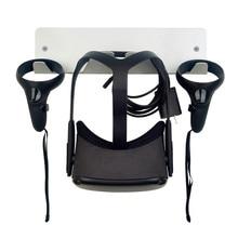Uniwersalny uchwyt ścienny stojak do przechowywania uchwytów do Oculus riff s Quest HTC Vive Pro Playstation VR indeks zaworów i mieszany zestaw do wirtualnej rzeczywistości