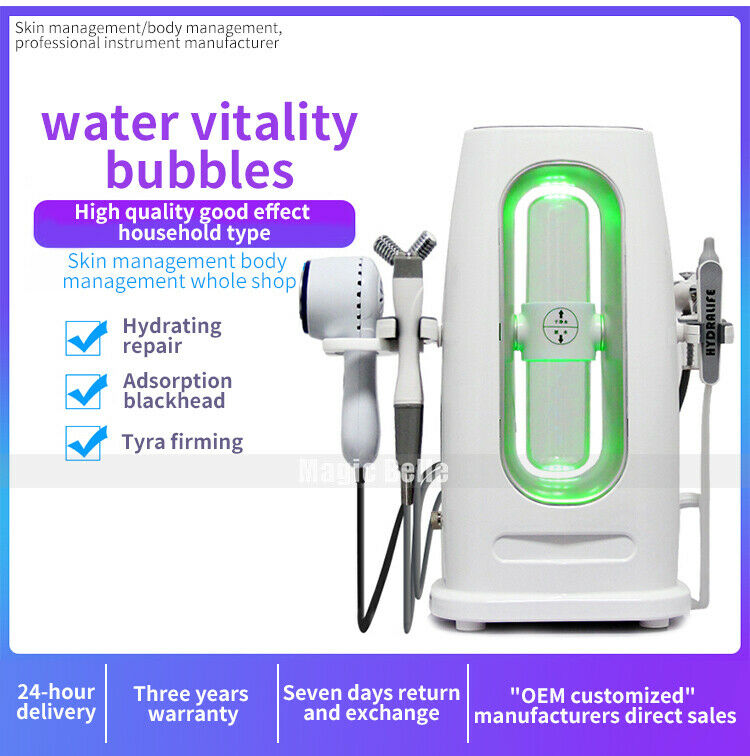 Newest Hydra Facial Clean Skin Whitening Beauty Machine Water Serum Skin Care Spa Dermabrasion Hydra Aqua Peel Machine With CE