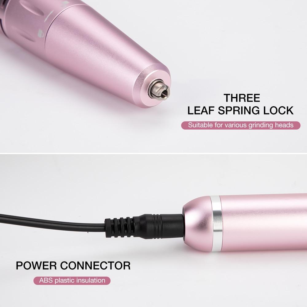 manicure portátil recarregável unhas elétricas broca para