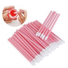 1000 PCS Lip Brush แปรงลิปสติกขายส่ง Gloss Wands Applicator Perfect Make Up Tool สำหรับอุปกรณ์เสริมสำหรับผู้หญิง