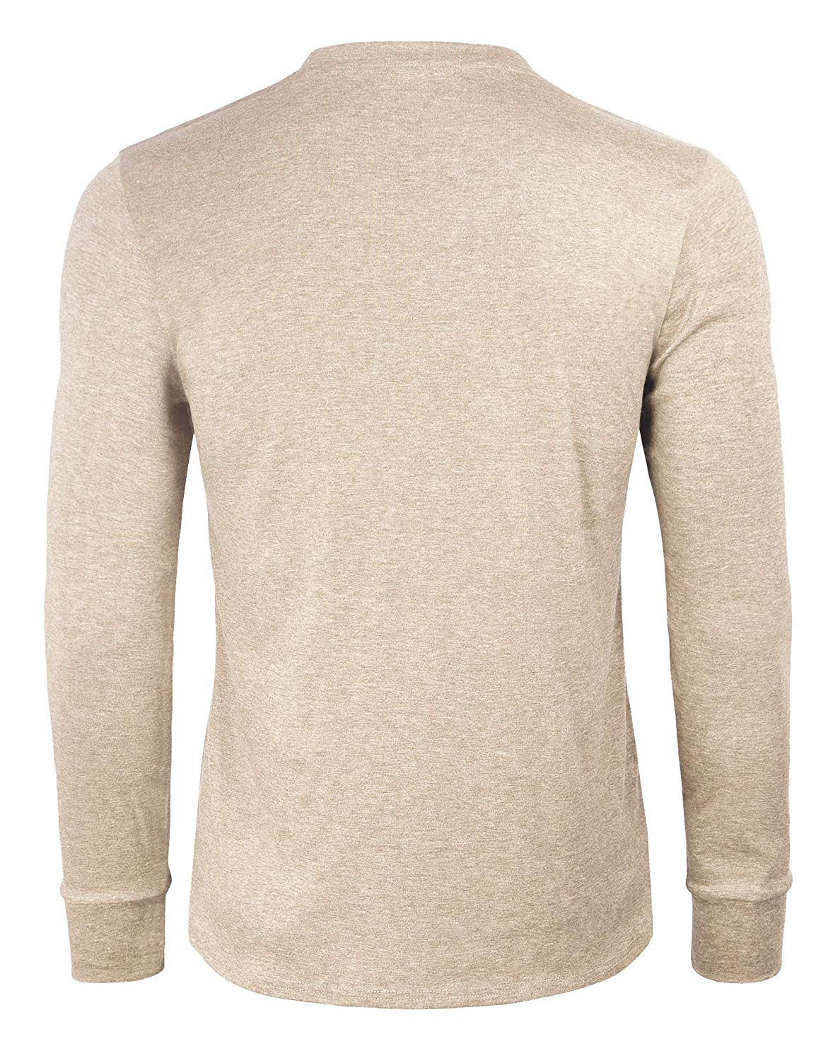 M220100 Men's Cotton Casual Long Sleeve Lightweight Basic Thermal T Shirts - 3