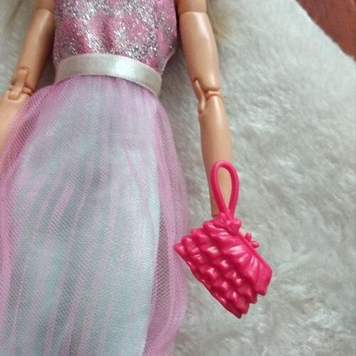 Doll Accessories Bags / Handbag Purse Bags for 1/6 barbie kurhn FR Blythe doll / Xmas Gift 7