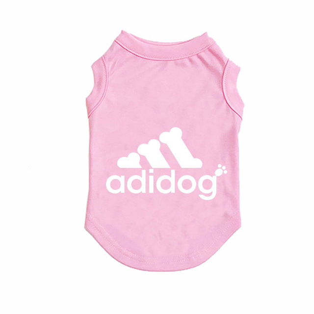 Adidog Summer Pet Dog Cat Vest Clothing for Small Large Dogs,Breathable 100% Cotton Pet Shirt,Chihuahua French Bulldog Clothing 5