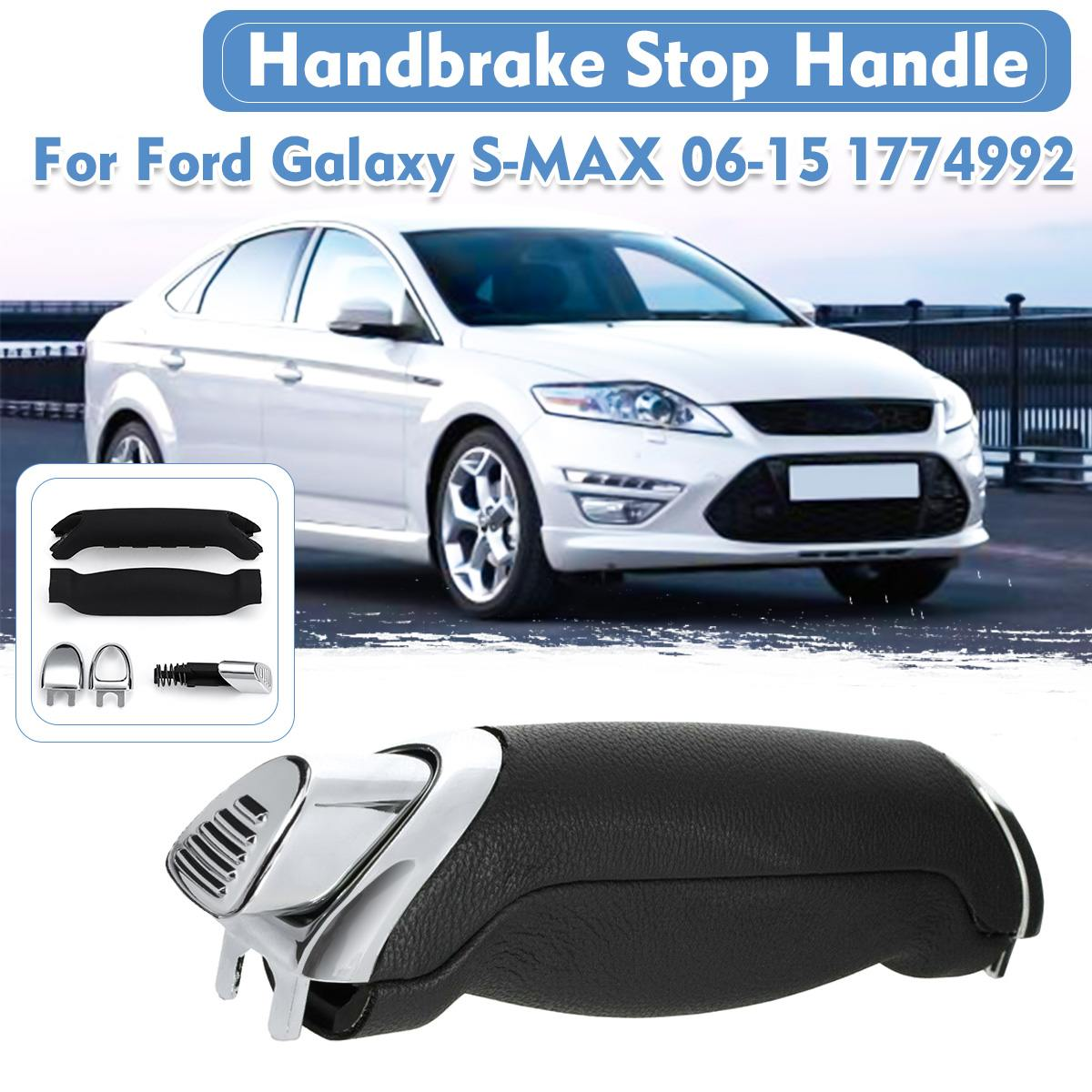 1 SET Easy Install Parking Handbrake Stop Handle Lever Kit For Ford For Galaxy For S-MAX 2006-2015 1774992 Car Accessories