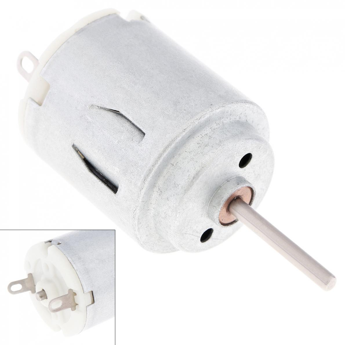 R140 3V 1.25W 14200rpm DC Motor Round Gear Solar Fan Motor Electric Toothbrush Motor With Carbon Brush For DIY Toys Hobbies