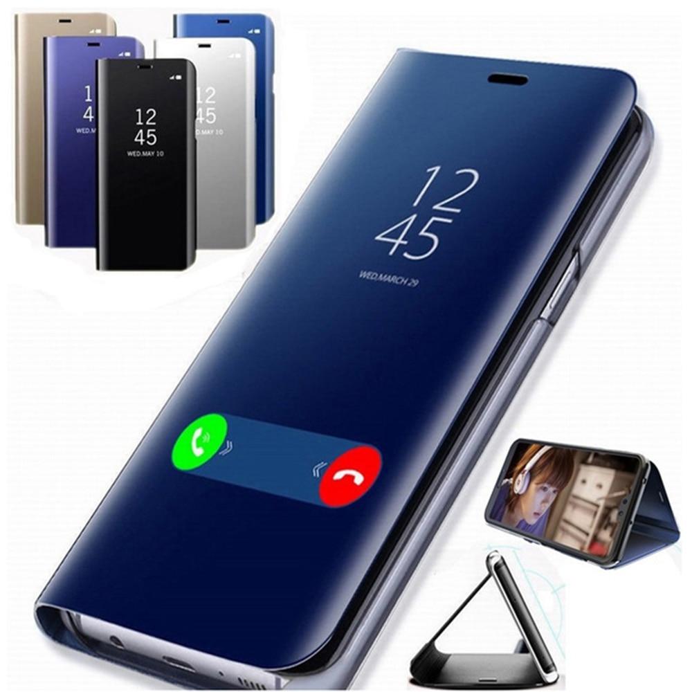 Чехол с откидной крышкой mi rror s для Xiao mi Red mi Note 7 5 6 8 Pro 6A 7A 8A 4X mi 9t A3 A2 Lite Pocophone F1 чехол на красный mi Note 7 8 Pro Чехол