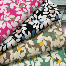 Small fresh fashion cushion pillow fabric cotton poplin printed fabrics sheets tablecloth handmade accessories