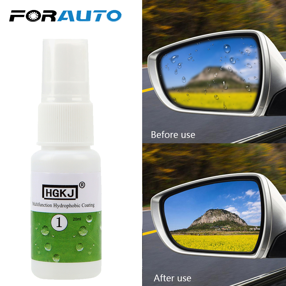 FORAUTO <font><b>Car</b></font> Window <font><b>Glass</b></font> <font><b>Nano</b></font> <font><b>Hydrophobic</b></font> Coating Waterproof Agent HGKJ <font><b>20ML</b></font> <font><b>Car</b></font> Paint Ceramic <font><b>Glass</b></font> Cleaning Multi-function image