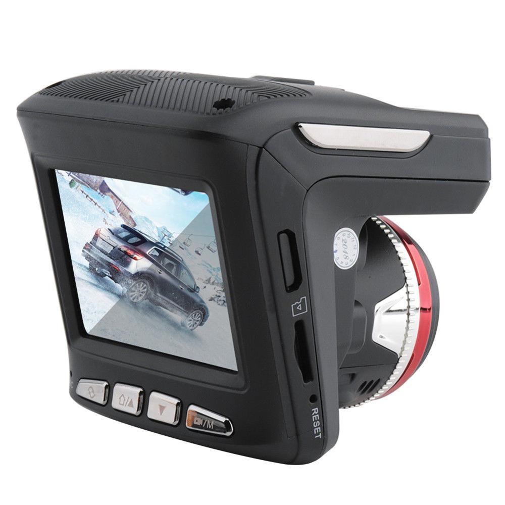 Новый 2 в 1 HD 1080P Автомобильный видеорегистратор Камера Радар лазерный Спидометр камера запись автомобиля безопасность вождения 2,4 ЖК диспл