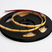 Smart RGB serpentine light 8mm 12V 24V no light point silicone 480 chip 3000K/4000K/6000K dimmable COB LED strip