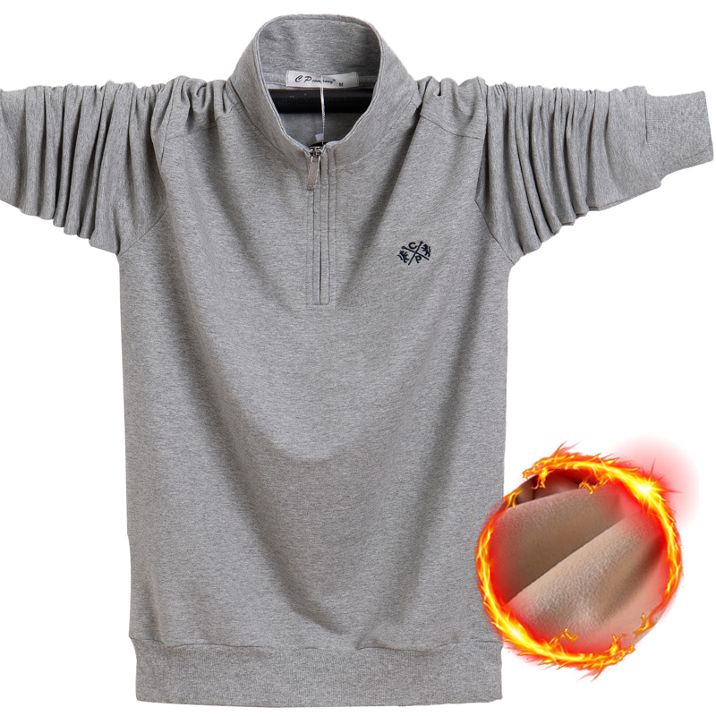 Image 5 - 2019 Winter Fleece Polo Shirt Men Plus Size 4XL 5XL 6XL Polo Men  Brand High Quality Fat Guy Clothes Thick Warm Cotton Polo ManPolo   -