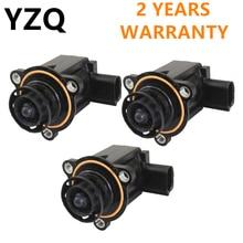 3 шт. 2,0 T/1,8 T электромагнитный клапан отсечки зарядного устройства для VW Passat B6 CC MK5 Golf MK6 Tiguan Eos Audi A3 A4 TT Seat 06H145710D