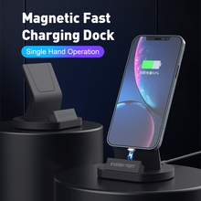 2021 Magnetic Phone Charger For iPhone 12 Huawei Dock Station Charger For Samsung Xiaomi Oneplus Type C Stand Holder Charger