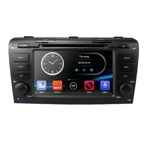 Image 2 - Remote control Car DVD player for Mazda 3 2004 2009 USB SD Bluetooth Steering Wheel Control Multimedia System DAB Free map card