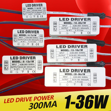 عالية الجودة 1 واط 7 واط 15 واط 18 واط 24 واط 36 واط امدادات الطاقة تيار مستمر ناقل الحركة الفلطنية محول محول التبديل لأضواء LED