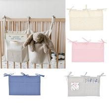 1 шт хлопок детские кроватки подвесная сумка для хранения детская