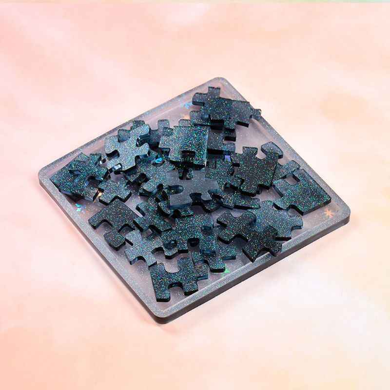 Geometric Resin Mold Puzzle Game Mold Tools DIY Craft NNLOUGINY Tangram Puzzle Mold 2#