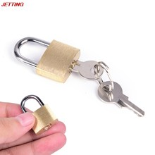 Mini Copper Lock Padlock Cuffs Collar Gag Lock Restraint Bondage Brass Ring Latch Sex Product Accessory Adult Products(China)
