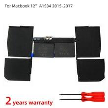 SZTWDONE A1527 A1705 חדש מחשב נייד סוללה עבור APPLE MacBook 12 אינץ רשתית A1534 (2015 2016 2017 ) MF855 MJY32 MK4M2 7.56V 5474MAH