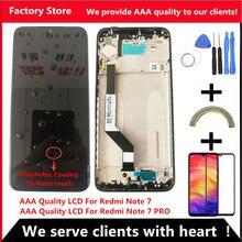 10 сенсорный качественный ЖК дисплей AAA для Xiaomi Redmi Note 7, ЖК дисплей с рамкой для Redmi Note7 Pro, ЖК экран