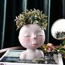 Скандинавская ваза для головы цветочный горшок садового растения
