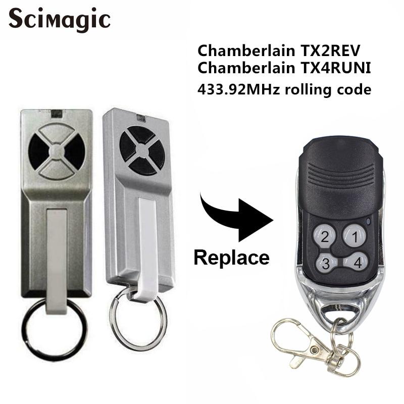 Chamberlain TX2REV / Chamberlain TX4RUNI garage door gate remote control opener command garage transmitter|Door Remote Control| |  - title=