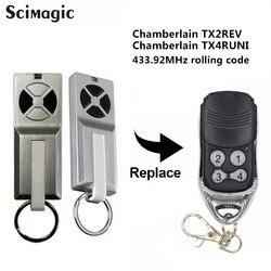 Chamberlain tx2rev/chamberlain tx4runi portão da garagem controle remoto abridor comando garagem transmissor