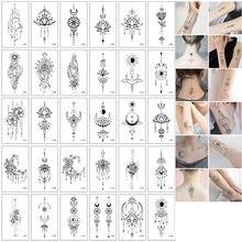 30 шт./компл. Tatuajes Temporales сексуальные штаны с фальш-вставкой для женщина руки рука тела Водонепроницаемый временные татуировки и Серебрянного...