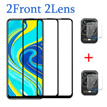 4 in 1 Camera Glass for Xiaomi Redmi Note 9 Pro Protective Glass On Redmi Not 9s Max Len Screen Protector Tempered Glass Ksiomi(China)