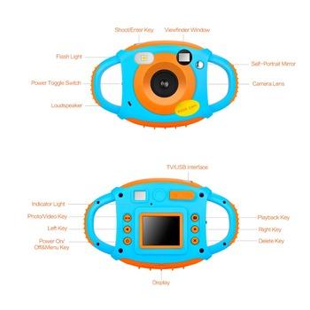 Mini aparat cyfrowy dla dzieci aparat fotograficzny 1 77 Cal kolor HD ekran 12MP 5MP autoportret z lusterkiem kreatywność aparat fotograficzny dla dzieci aparat fotograficzny tanie i dobre opinie RICH Naprawiono ostrości Brak Hd (1280x720) CMOS 1 2 7 cali 16-50mm 5 0MP KR003 Karta sd Standardowy ekran 2 quot
