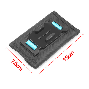 Image 4 - SHOOT 360 stopni obrotowy plecak klip góra dla GoPro Hero 9 8 7 czarny Xiaomi Yi 4K Sjcam Eken pasek na ramię dla GoPro akcesoria